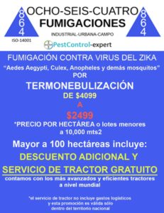Fumigaciones Zika