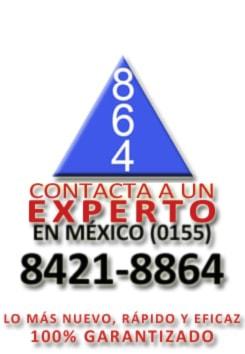 864 FUMIGACIONES EN EL DF